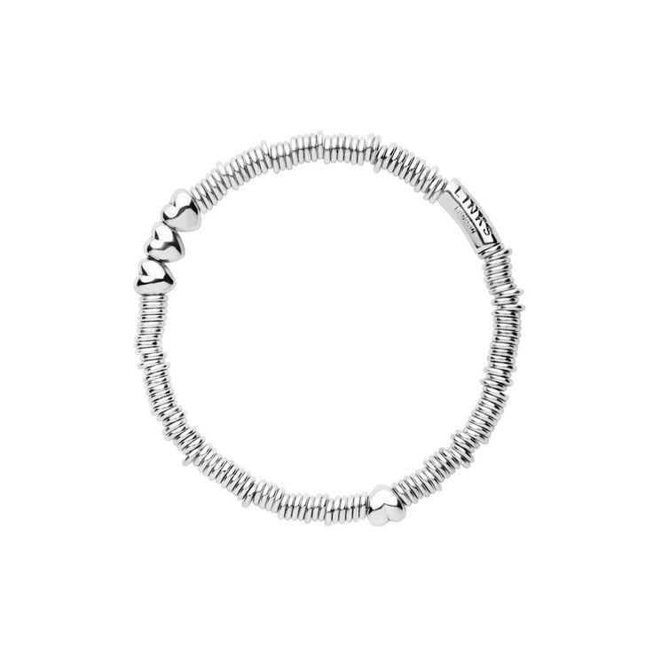 Links of London Silver Sweetie XS Heart Bracelet 50102125 | John Greed Jewellery