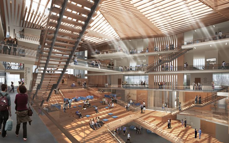 Winning Design Revealed for New College of Architecture and Design in China,Courtesy of Moore Ruble Yudell And Tongji Architectural Design and Research Institute