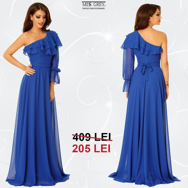 Dresses with a romantic feel are perfect when attending a sophisticated events. Take advantage of the 50% discounted price for the Ada Blue dress and enjoy the Black Friday campaign.
