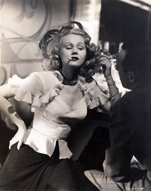 Virginia Mayo 1946  I loved her work in She's Working Her Way Through College (1952). This movie is so cute and her dancing was amazing!