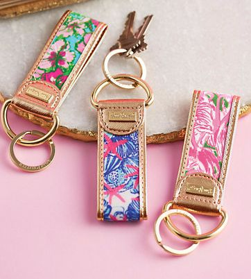 Lilly Pulitzer Key Chain Fob- new prints, only $18