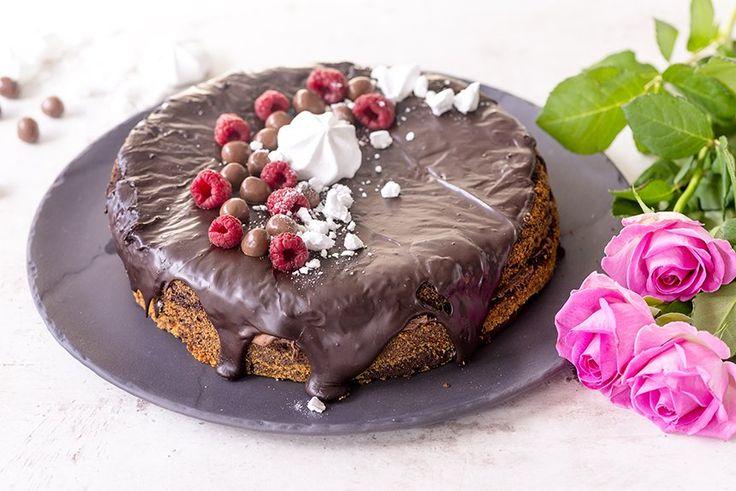 Nutella-suklaakakku