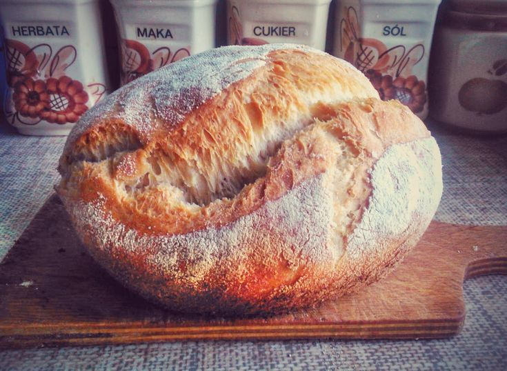 Chleb wiejski- pain rustique wg Hamelmana