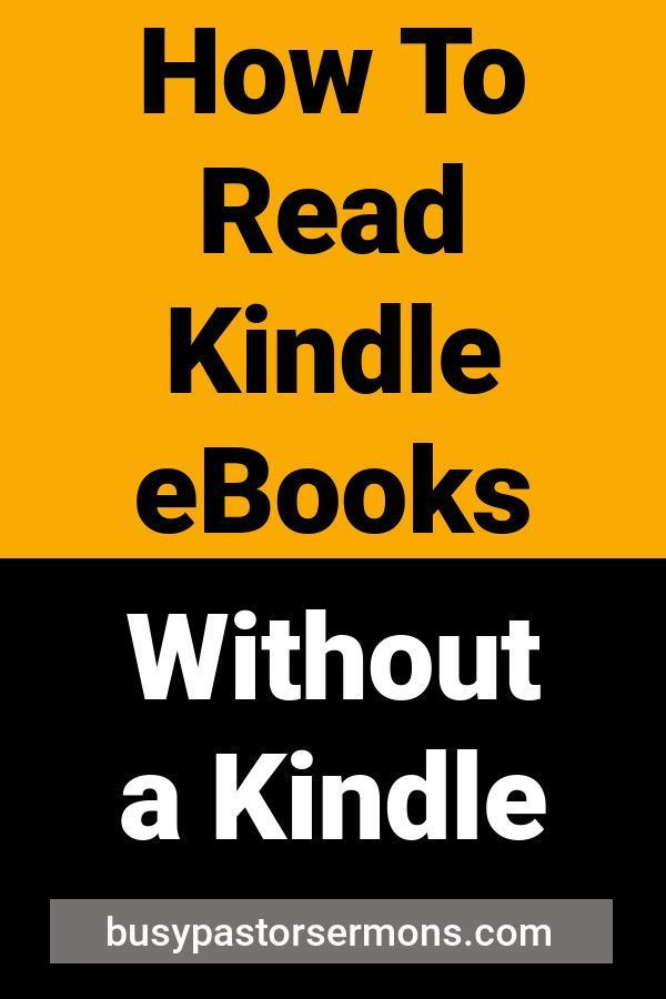 YOU DON T HAVE TO OWN A KINDLE TO READ A KINDLE BOOK  I