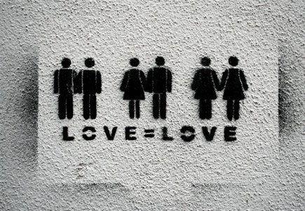 ¤ Love = Love. Street Art