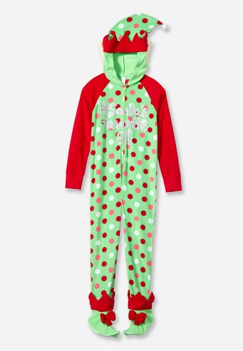 Image result for justice for girls holiday onesie