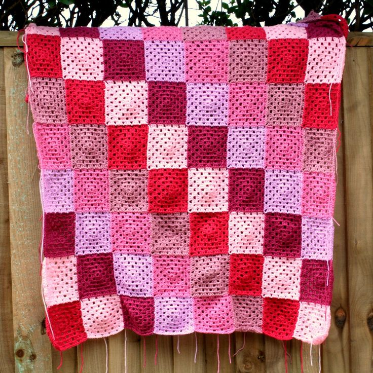 Crafty Alchemy Blog - Crochet Granny Square Blanket #crochet #grannysquare