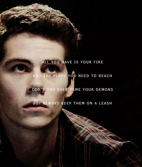 Hottie dylan o'brien and a quote ;) please marry me dylan!!!