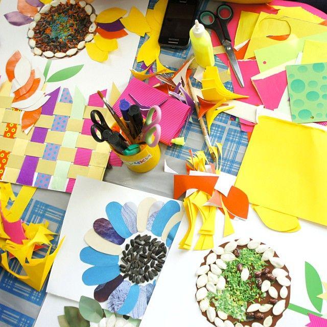 Солнечно-подсолнечный беспорядок:) #мастерская #книжжучки #sunflower #творчество #flower #подсолнух #осень