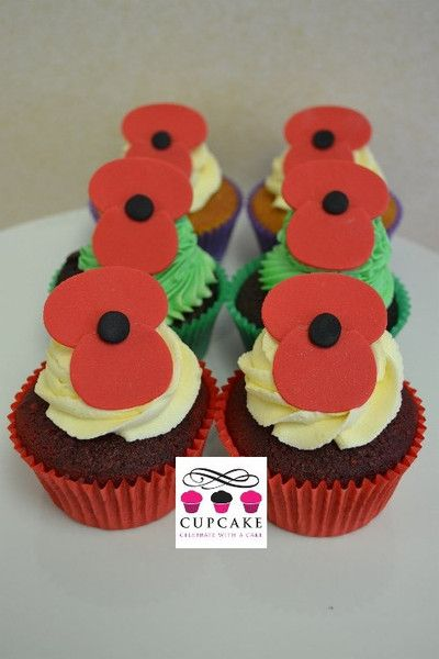 Anzac Day Cupcakes