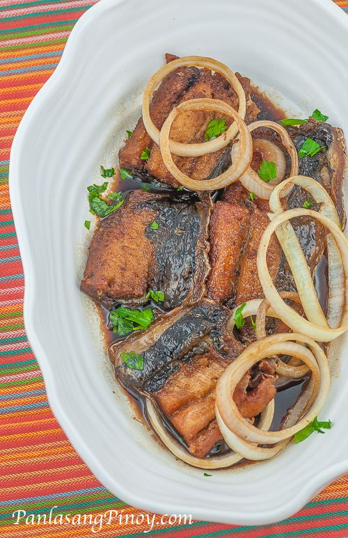 Filipino Fish Steak Recipe.. Just when I am eager to stick to my diet, I find yummy recipes like this one lol
