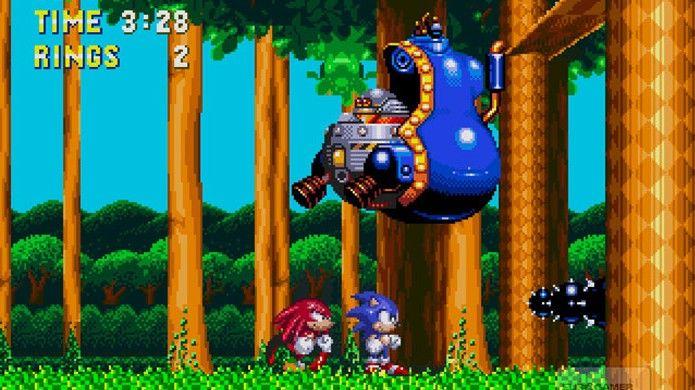 Sonic & Knuckles trouxe uma tecnologia revolucionária na época, permitindo inserir um novo personagem no jogo (Foto: ign.com)