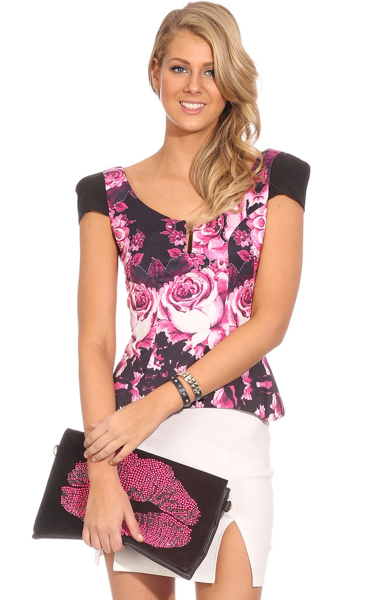 Tops > JUST ONCE TOP $39.95