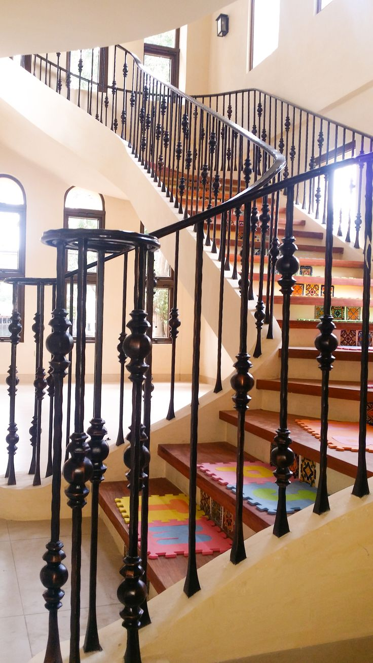 Product name: Customized Decorative Classic Wrought Iron Stair ...