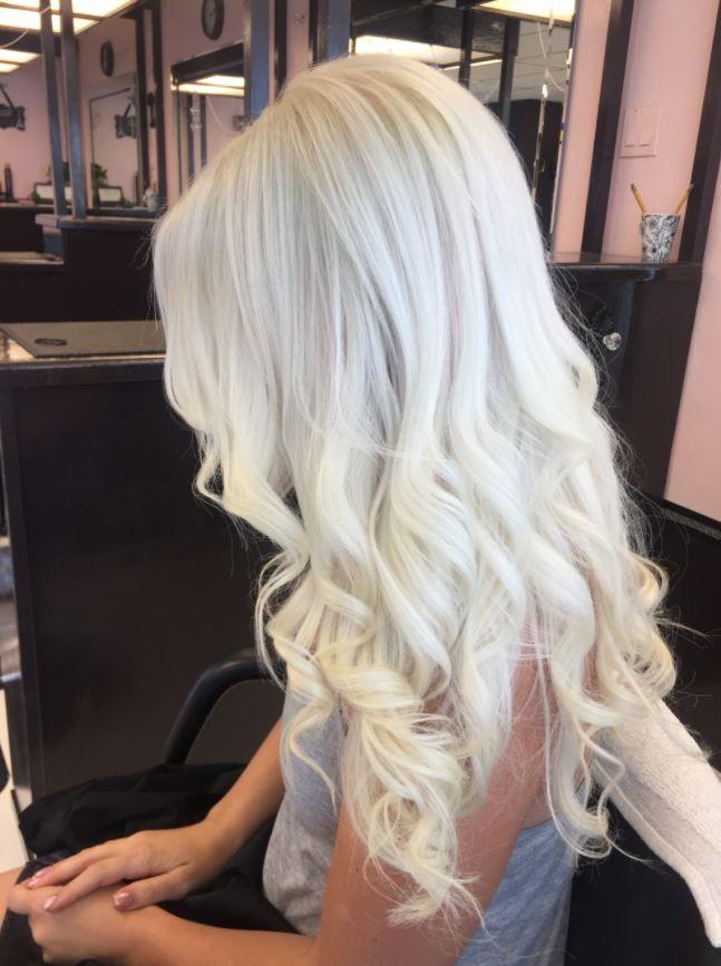 Sari Sac Rengi Ve Tonlari Katalogu Frisuren Platinblonde Haare