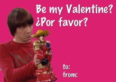 Be My Valentine Por Favor? Drake And Josh