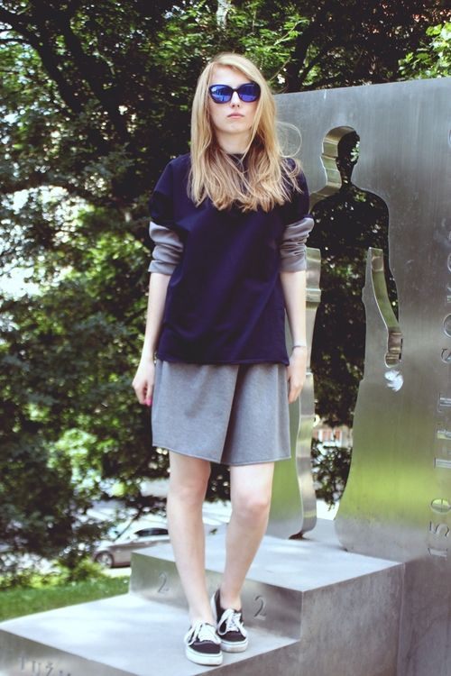 Sweater and Shorts by VARIANTA new clothing brand based in the heart of europe http://varianta.co.vu/ http://varianta.storenvy.com/
