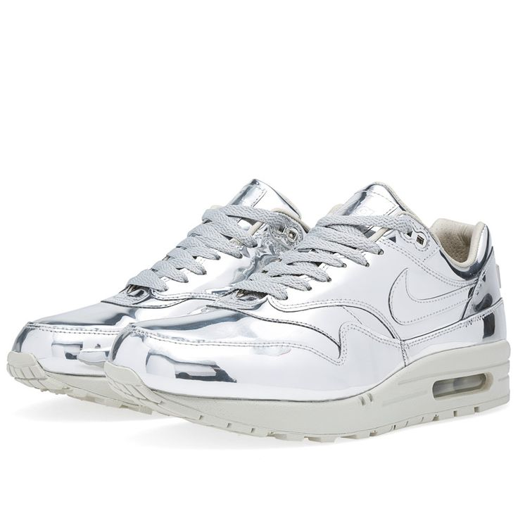 Free Shipping 6070 OFF Nike Air Max 1 SP Liquid Metal Metallic Gold Sneakers S8CEs