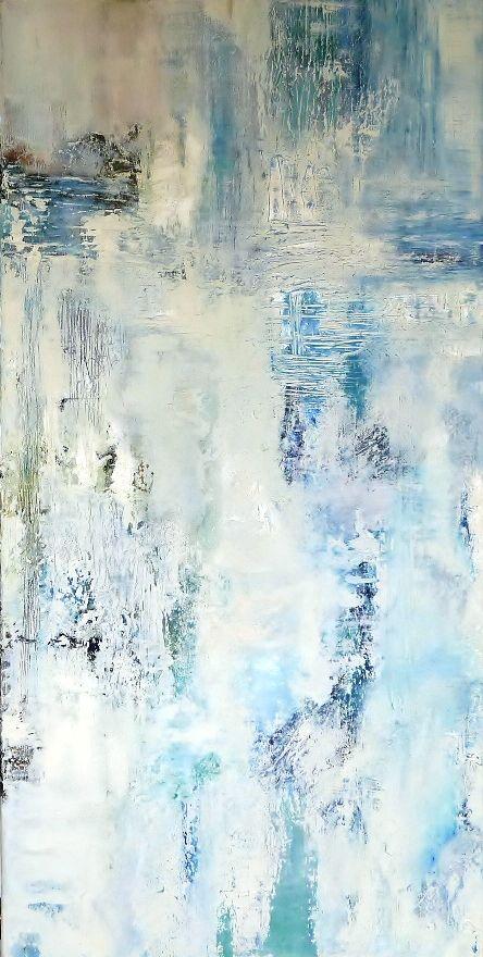 Olieverf 60 x 120. Door: Anne-Marie Kouters.