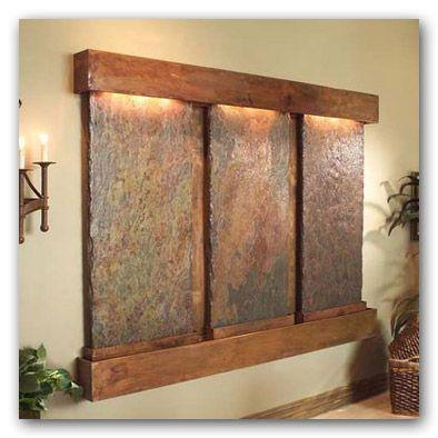 diy slate water fountain ideas indoor water featureswall - Slate Wall Fountains Indoor