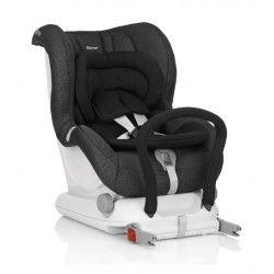 SILLA AUTO ROMER MAX-FIX II: sillita de seguridad de espaldas a la carretera desde el nacimiento hasta los 18 Kg. (grupo 0+1) con Isofix. Garantía de seguridad por el Plus Test, el más exigente del mercado.