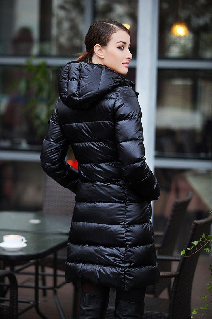 Long Black | Down Jacket - Mix | Pinterest | Long black