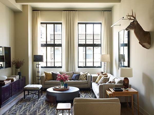 Contemporary loft gets a sophisticated update in TriBeCa, NY