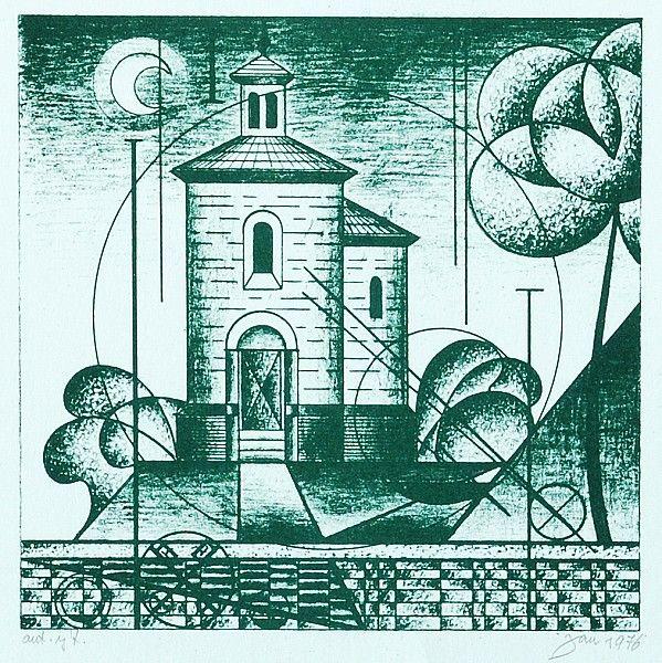Vladimír Jandejsek - Rotunda sv. Martina (1976)