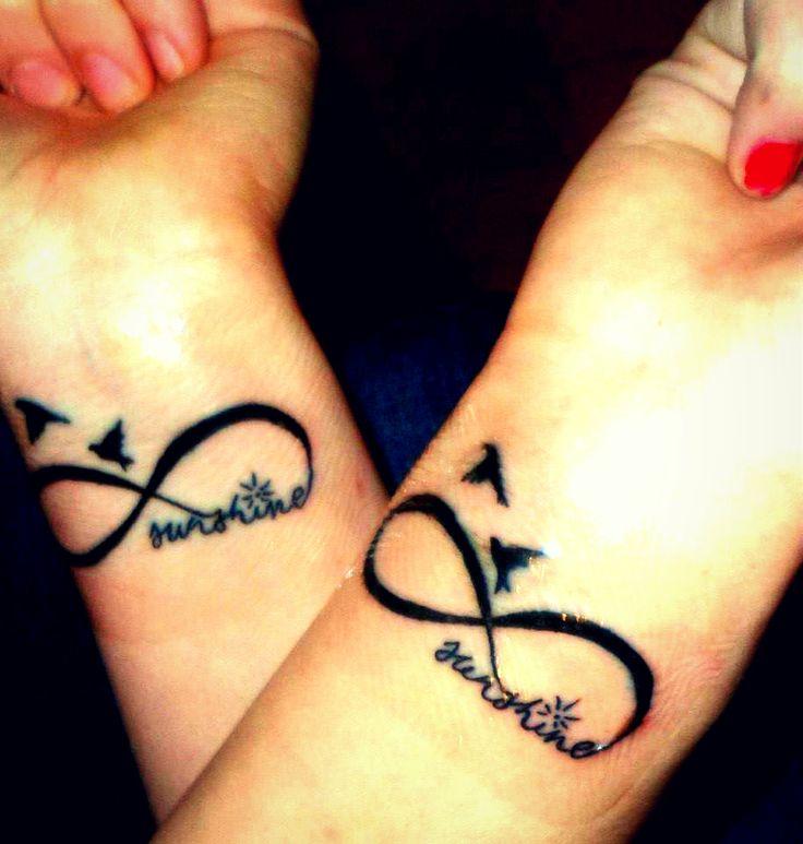 49 best best friend tattoo images on pinterest tattoo for Matching friend tattoos