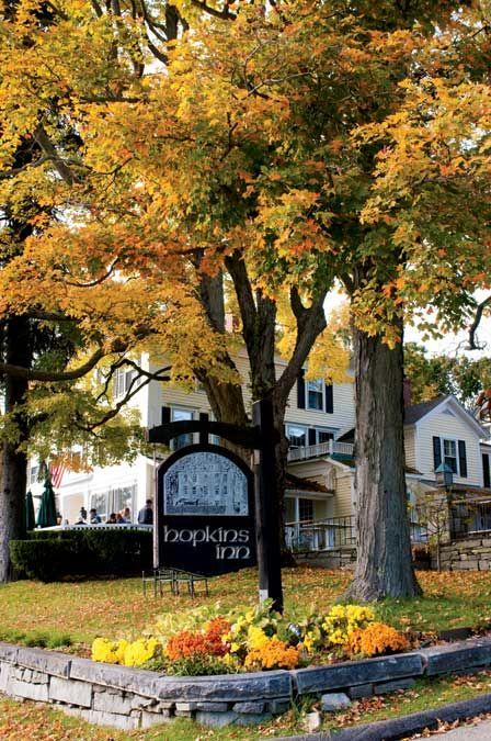 Fall Comes to Connecticut's Litchfield Hills-Hopkins Inn. Yankee Magazine.