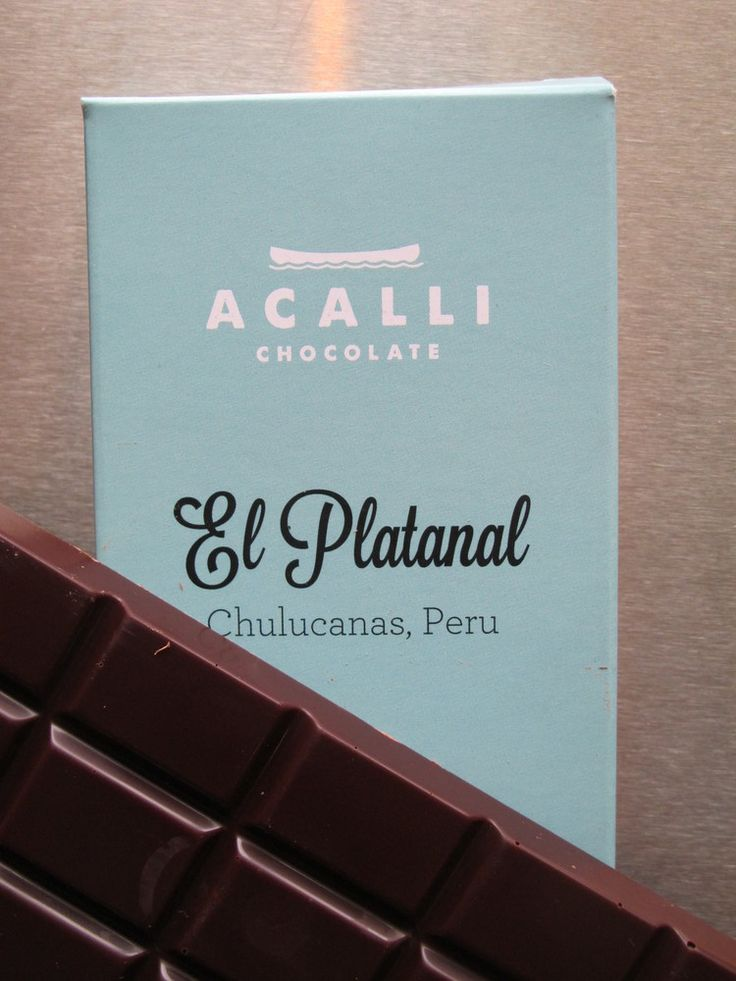 Acalli Chocolate El Platanal #dark chocolate #hand made #New Orleans #NOLA #Fair…