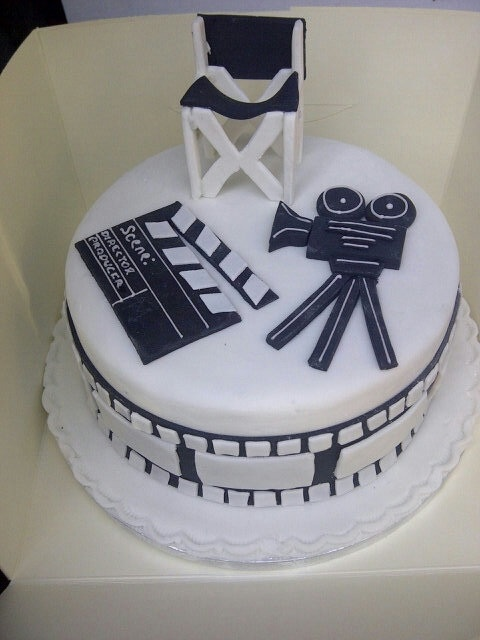 Film Cake Novelty Cakes Pinterest Movie Cakes