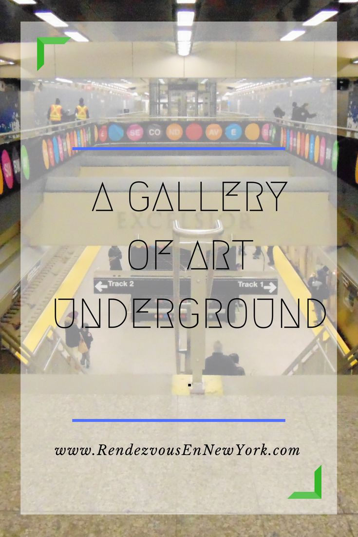 A Second Avenue Subway Rendezvous A gallery of art exists underground in the new stations that have recently opened.
