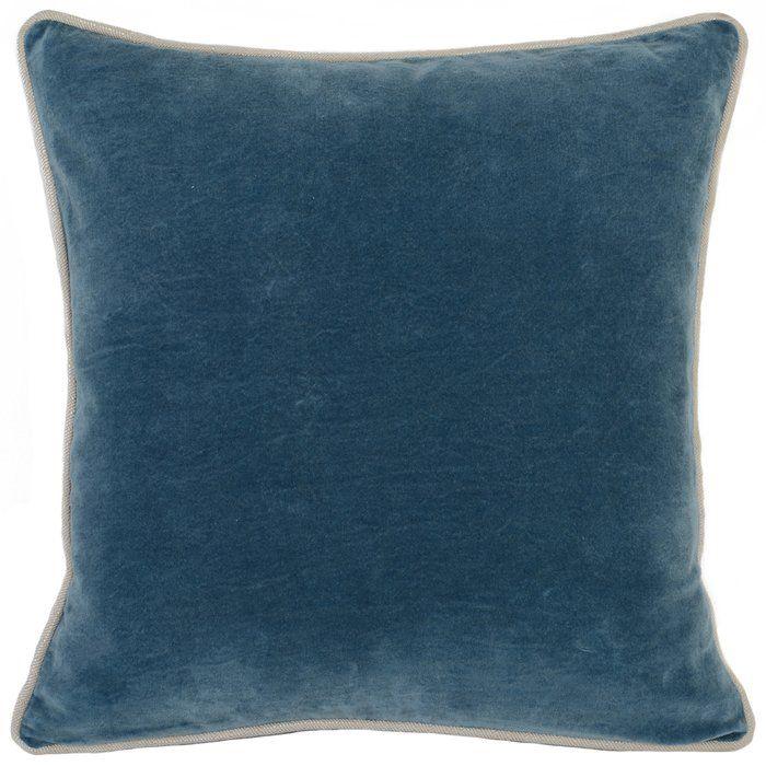 Vedika Cotton Throw Pillow Velvet Accent Pillow Throw Pillows Cotton Throw Pillow