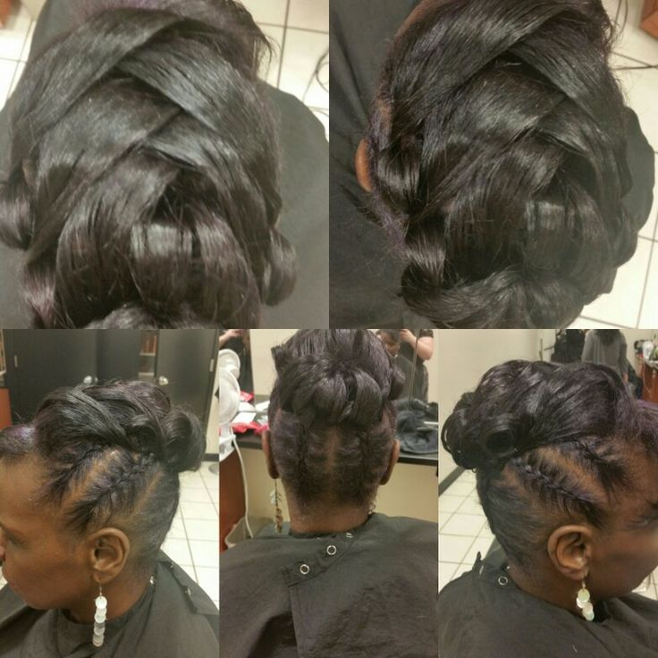 Updo. Hair by Nicole Windsor at Jcpenney salon in