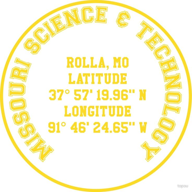 Missouri University of Science and Technology Benchmark (yellow text) benchmark on t-shirts, lightweight hoodies, phone cases, laptop cases, laptop sleeves, throw pillows, tote bags, studio pouches, and stickers. Check out our selection!