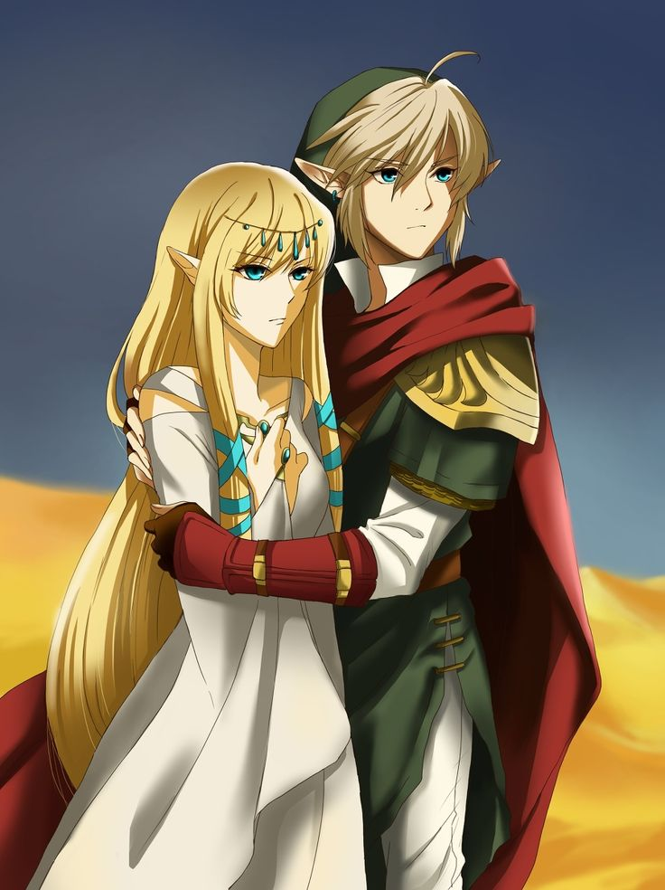 Her Grace and the Hero. The original story before they were Zelda and Link.