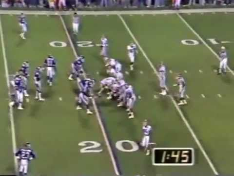 Scott Norwood misses the fieldgoal of his career - YouTube