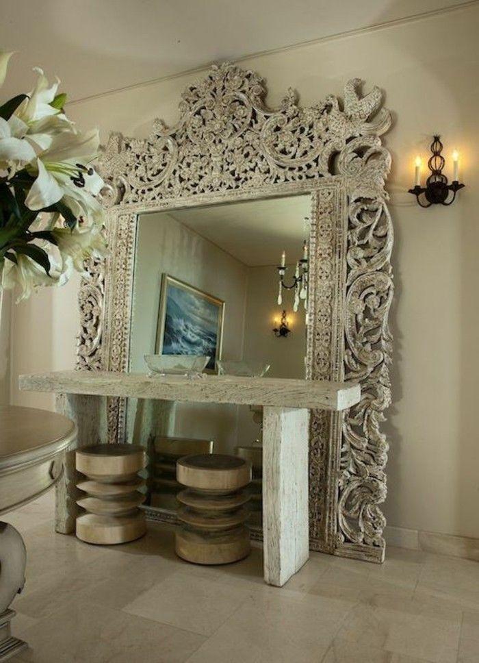 Les 25 meilleures id es de la cat gorie grands miroirs muraux sur pinterest miroirs vintage for Immense miroir
