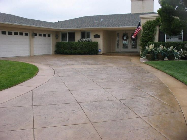 Definitely better than a 'Welcome Home' banner. Interested in decorative concrete driveway resurfacing? CALL (407) 423-3342 now.  Sun Surfaces of Orlando 330 Maguire Rd. Ocoee, Florida 34761 (407) 423-3342