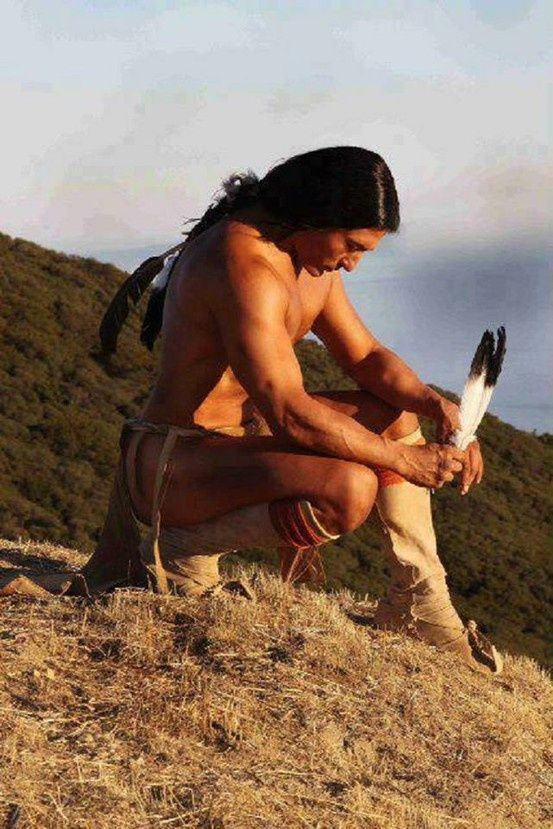 Gorgeous Native American Men | Native American   See now if my hair would look like theirs