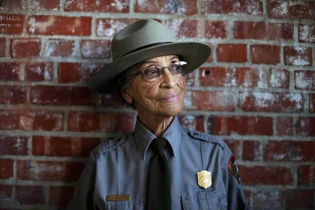 Incredible story of a 92-year-old ranger working at Rosie the Riveter/World War II Home Front National Historical Park | Rangering in the Tenth Decade by National Park Service Ranger Betty Soskin #TrailTalk: Reid Soskin, National Historical, Oldest Activities, National Parks, Betty Reid, Historical Parks, Rosie The Riveter, Parks Ranger, Park Rangers