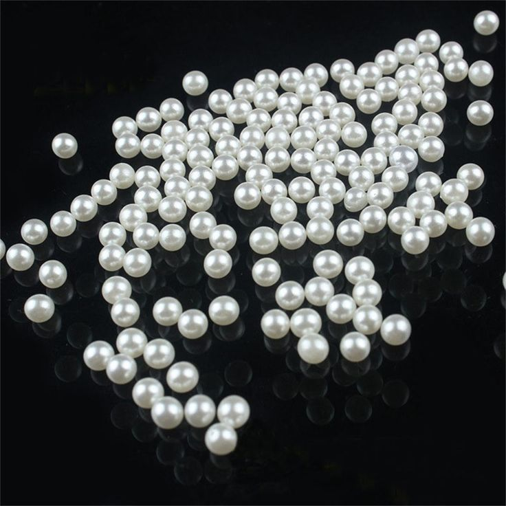 LNRRABC 200 teile/los 5 MM DIY Weiß Runde Imitation Acryl Perle Runde Spacer Lose Perlen Charms DIY Großhandel Schmuck Makin ly