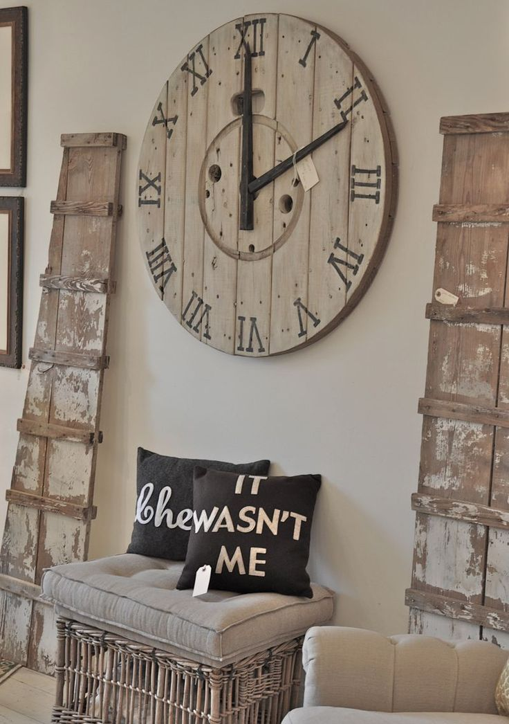 Spool Turned Clock is creative inspiration for us. Get more photo about home decor related with by looking at photos gallery at the bottom of this page. We are want to say thanks if you like to share this post to another people via your facebook, pinterest, google plus or …