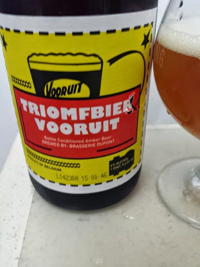 Dupont Triomfbier Vooruit Beer Review http://beeralien.com/dupont-triomfbier-vooruit-beer-review/