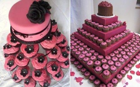 Torta-cupcake - Ricevimento di nozze - Forum Matrimonio.com