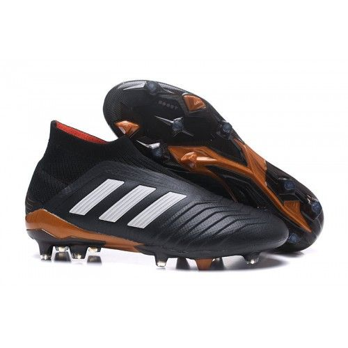 huge discount 57ea6 630d3 New adidas Predator 18 FG Football Boots Black Red White