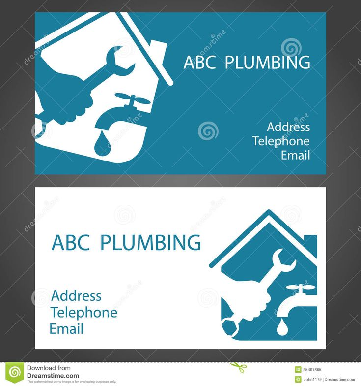 17 best Plumbing logo images on Pinterest | Visit cards, Brand ...