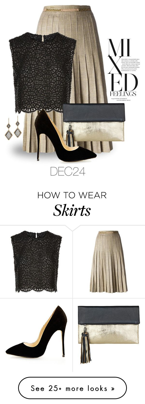 """Dec 24th (tfp) 2759"" by boxthoughts on Polyvore featuring Dana Kellin, CÉLINE, Costarellos, BeckSöndergaard and tfp"