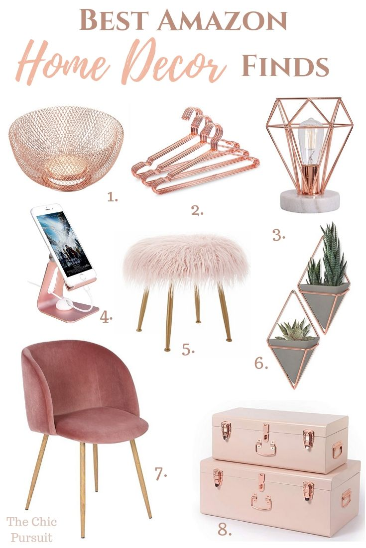 Best Gold Home Decor Finds On Amazon That You Ll Love Rose Gold Room Decor Gold Home Decor Gold Room Decor